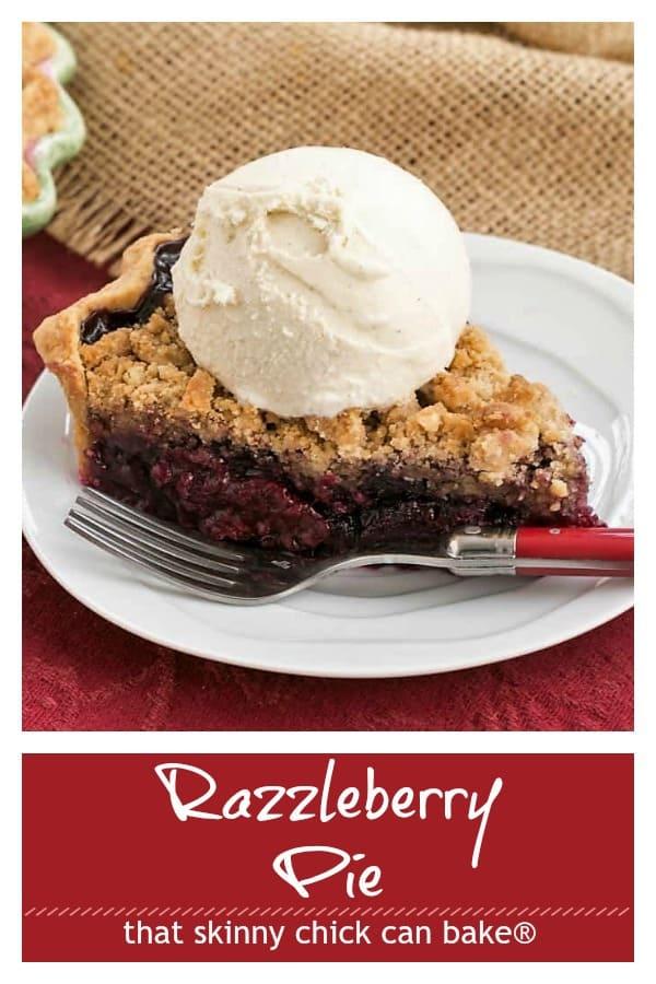 Razzleberry Pie Pinterest collage