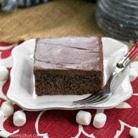 Coca Cola Cake with Marshmallows featured image
