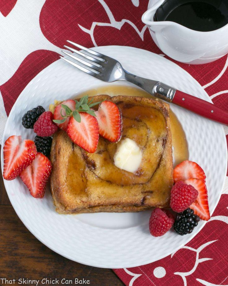 Overnight Cinnamon Bread French Toast