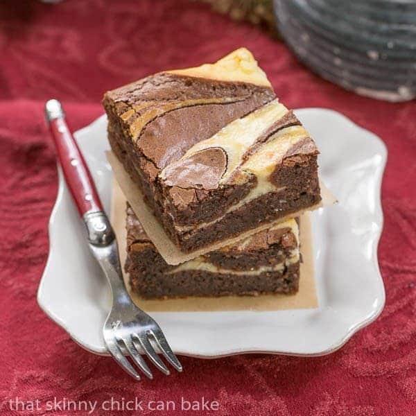 Ricotta Cheesecake Brownies