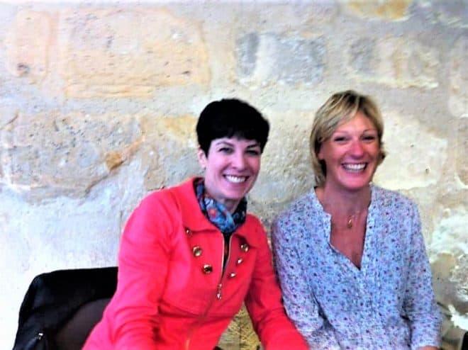 With Jill Colonna at Un Dimanche, Paris