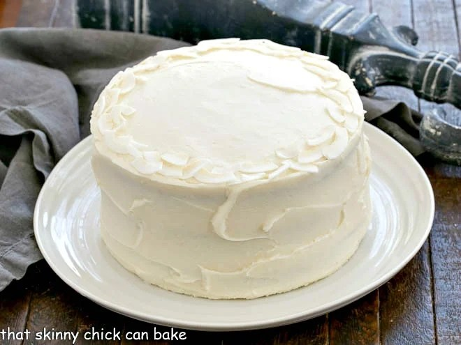 Best Italian Cream Cake That Skinny Chick Can Bake
