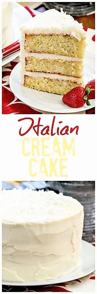 Italian Cream Cake pin