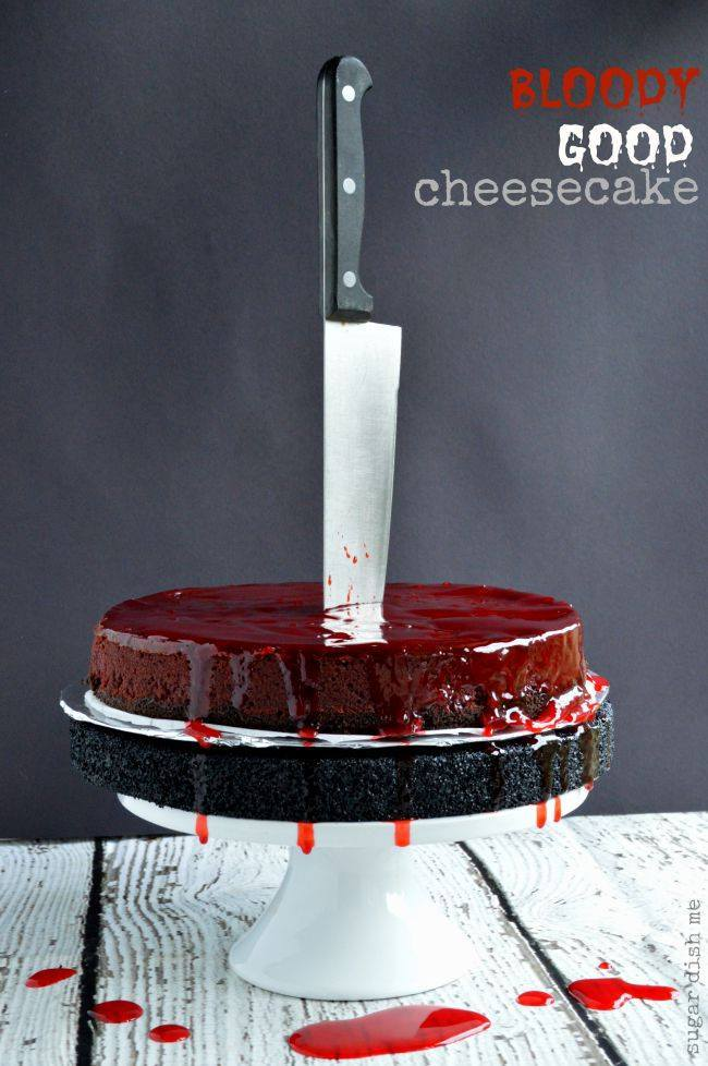 The Halloween Project Week One - Bloody Good Cheesecake