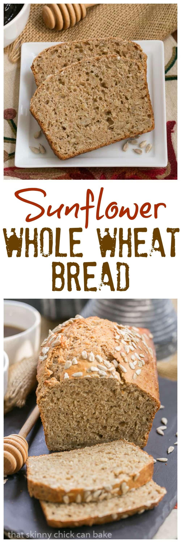 Sunflower Whole Wheat Bread