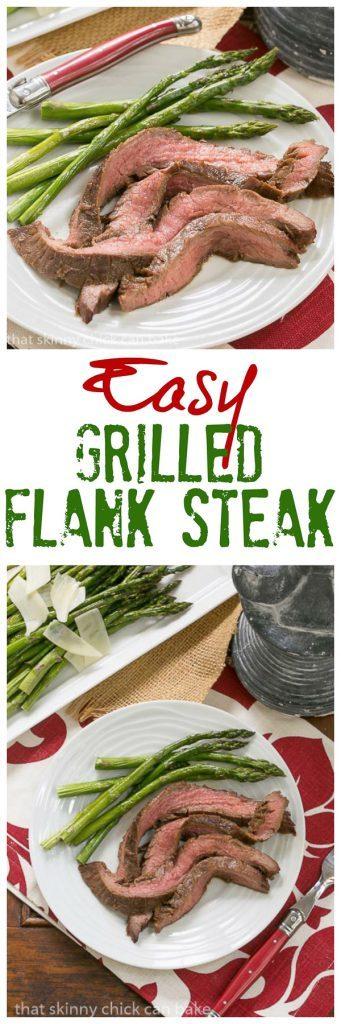 Easy Grilled Flank Steak