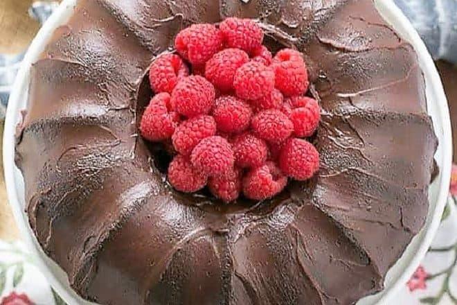 Chocolate Buttermilk Bundt Cake featured image