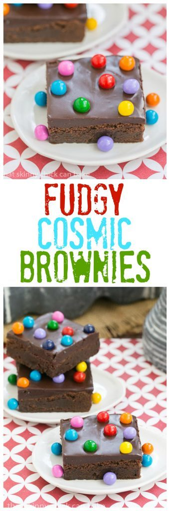 Cosmic Brownies collage for pinterest