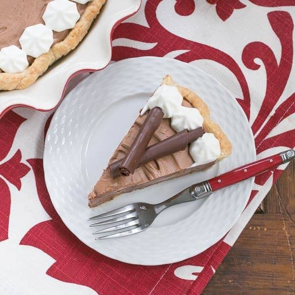 French Silk Pie | The most decadent, dreamy chocolate pie you'll ever eat!