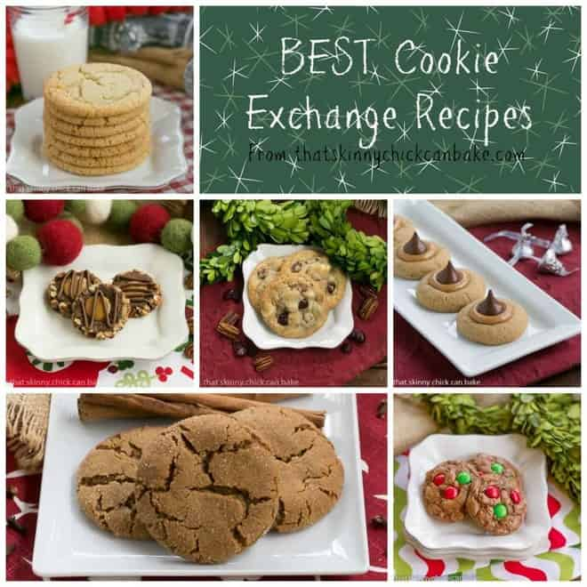 Best Cookie Exchange Recipes | Cookies I bake every year for the holidays! Each one is a winner!!! thatskinnychickcanbake.com @lizzydo