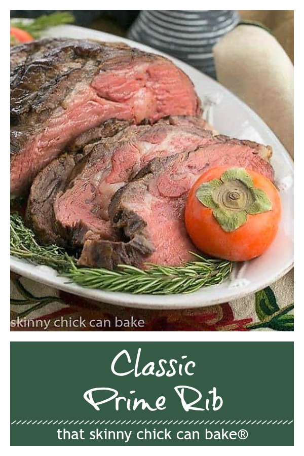 Classic Prime Rib photo and text collage