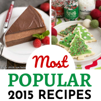 Most Popular 2015 Recipes 2 image collage