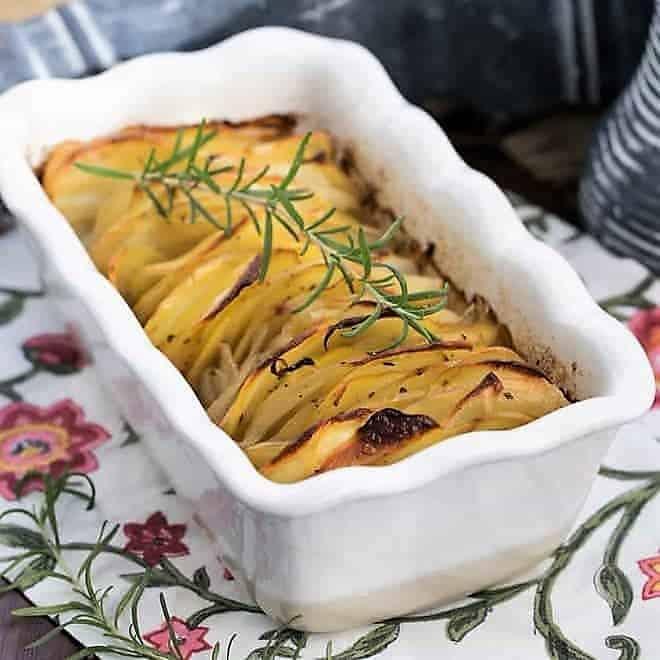Hasselback Potato Casserole