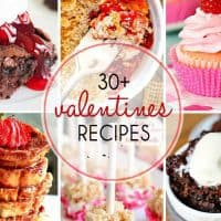 Valentine's Day Recipes photo collage