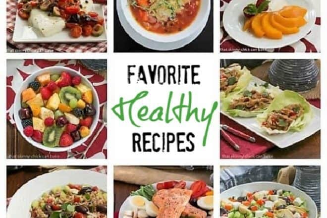 Favorite Healthy Recipes featured image