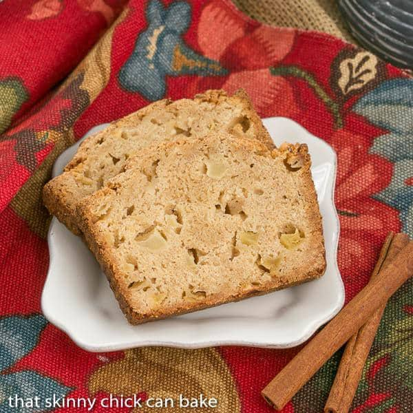 Cinnamon Spiced Apple Bread
