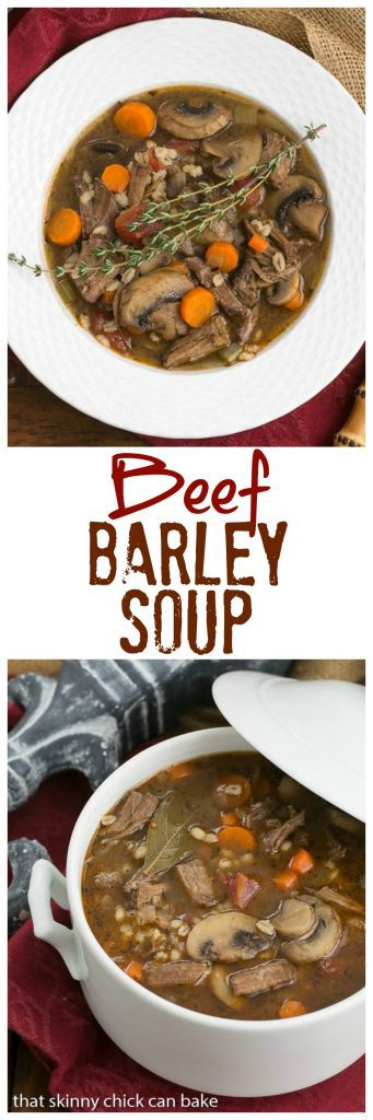 Homemade Beef Barley Soup - Worth the time and effort for this extraordinary soup!
