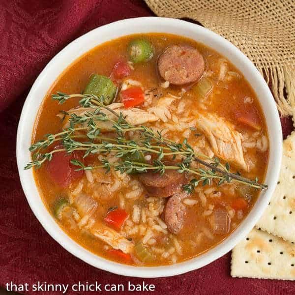 Chicken Jambalaya Soup