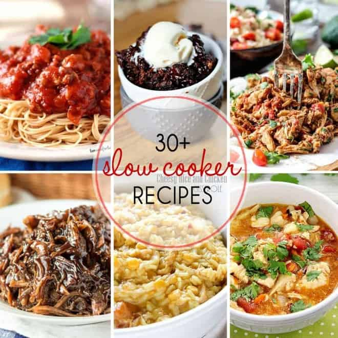 30+ Fabulous Slow Cooker Recipes
