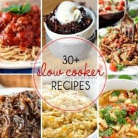 30+ Fabulous Slow Cooker Recipes