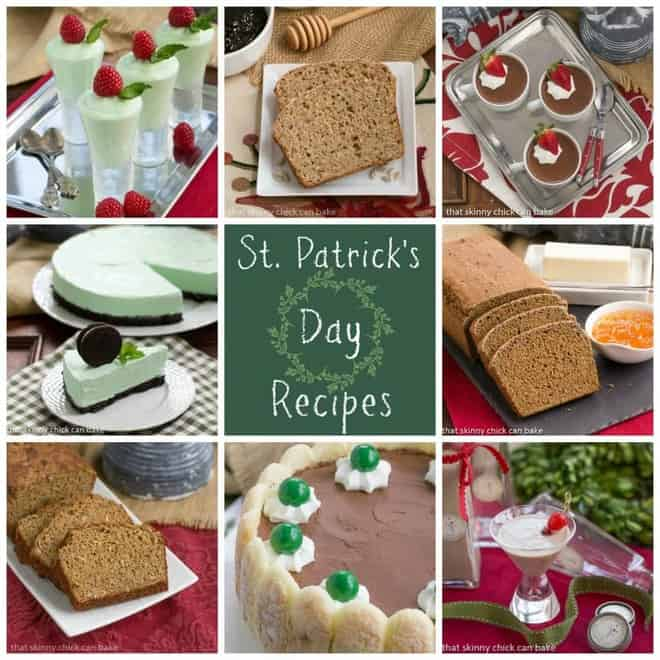 Collage of 8 St Patrick's Day Recipes