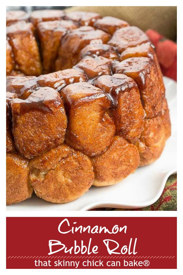 Cinnamon Bubble Roll pinterest collage