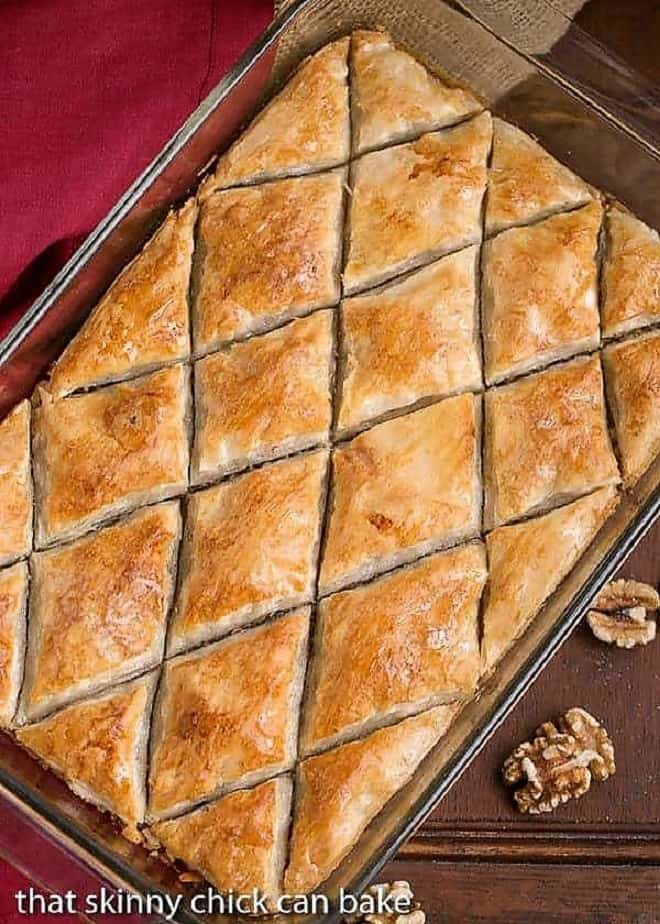 How To Make The Best Baklava Recipe That Skinny Chick Can Bake