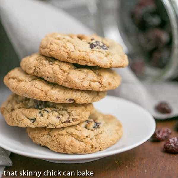 Oatmeal Chocolate Chunk Cookies | Packed full of chocolate, oats, nuts and dried cherries