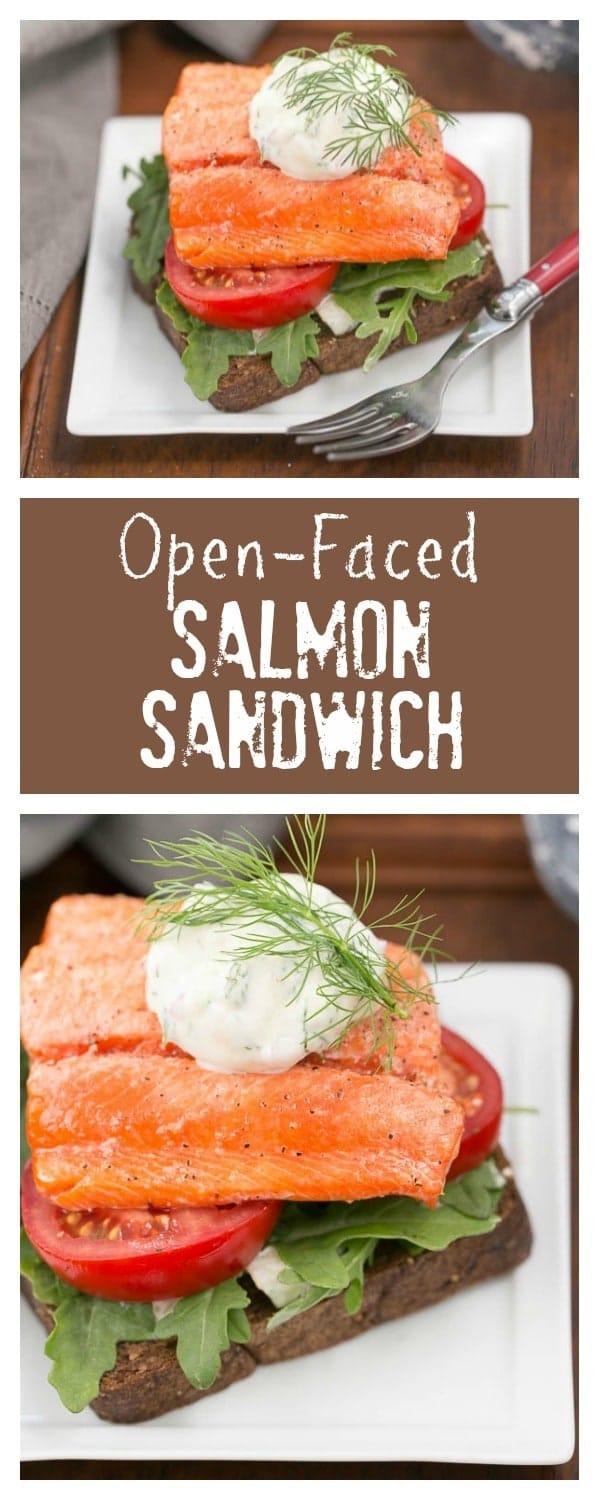 Open-Faced Salmon Sandwiches with Herb Cucumber Relish- This is one heck of a marvelous sandwich!!!