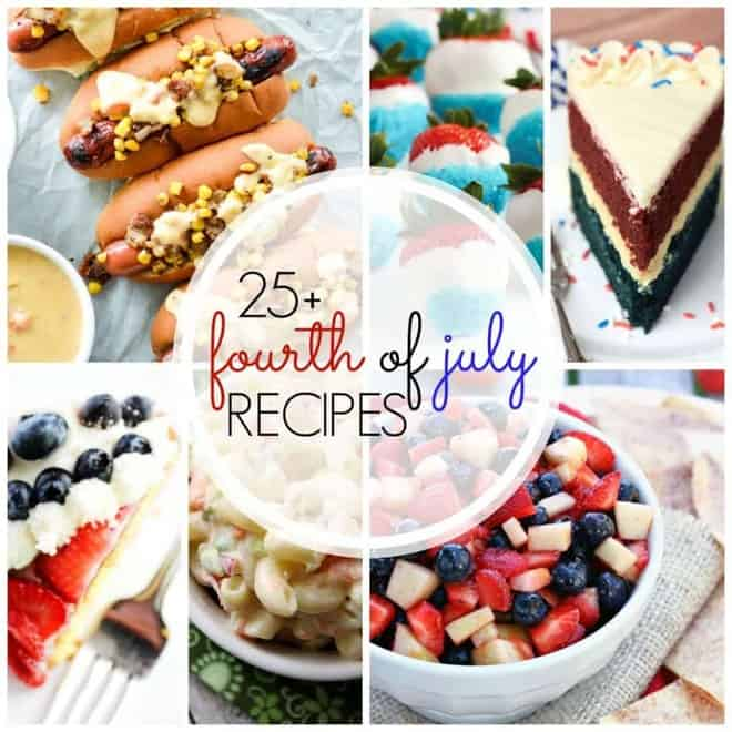 25+ 4th of July Recipes collage
