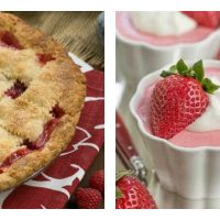 Berry Desserts collage