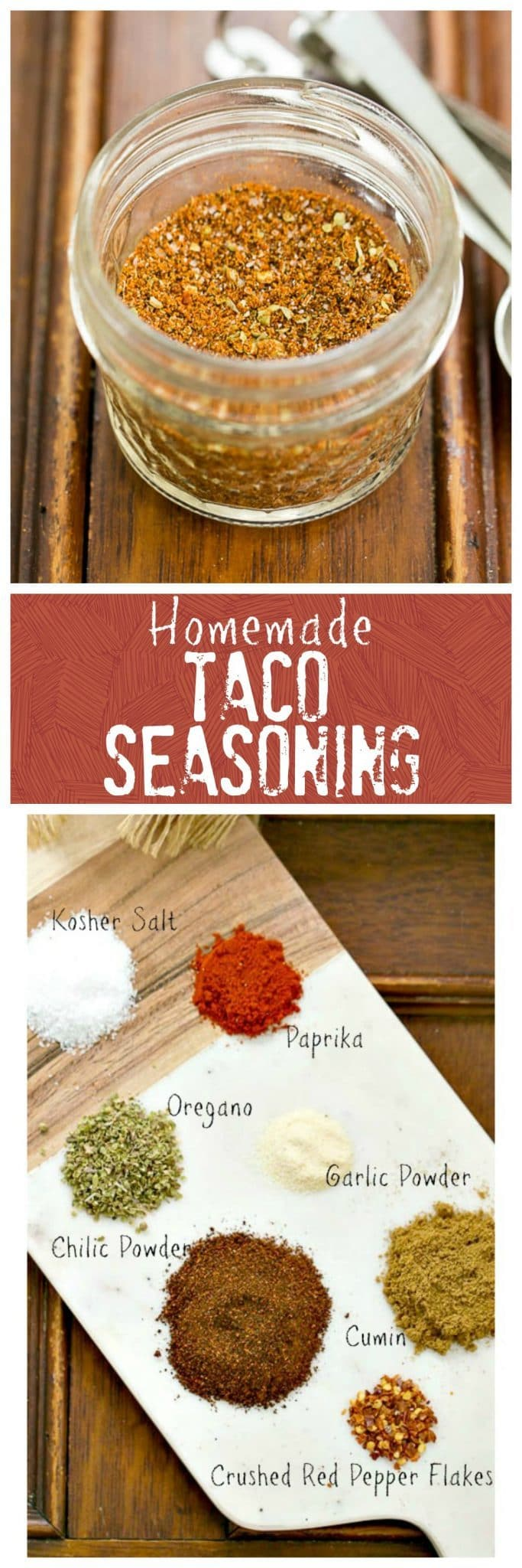 Homemade Taco Seasoning!