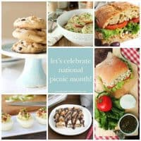 Picnic Month Collage | Picnic Recipes
