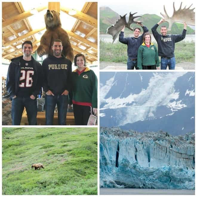 Alaska, 2016 family photo collage