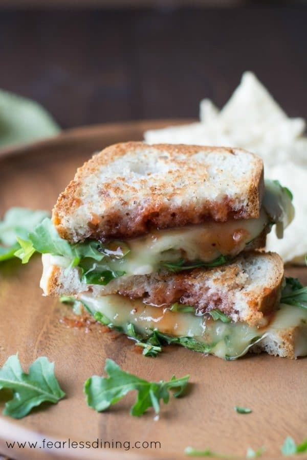 Gluten Free Pepper Jack Grilled Cheese
