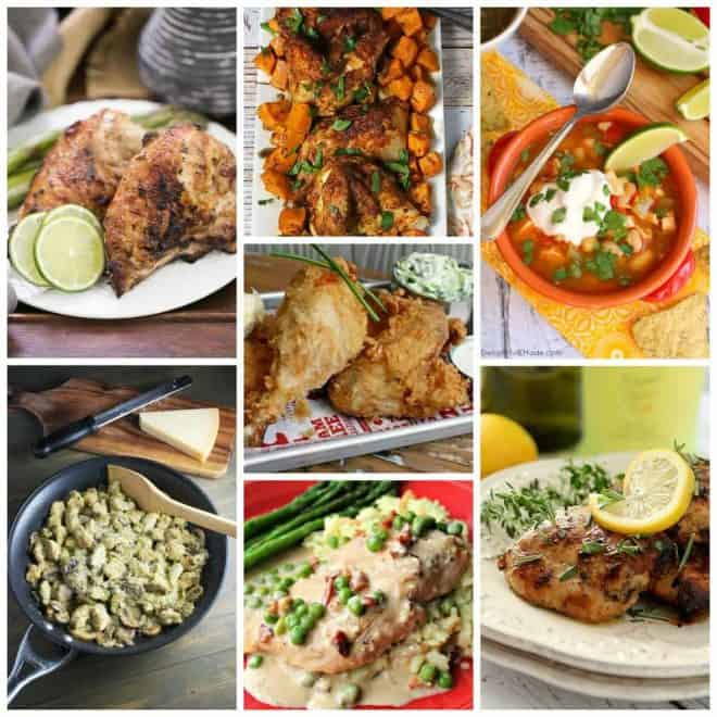 Favorite Chicken Recipes collage