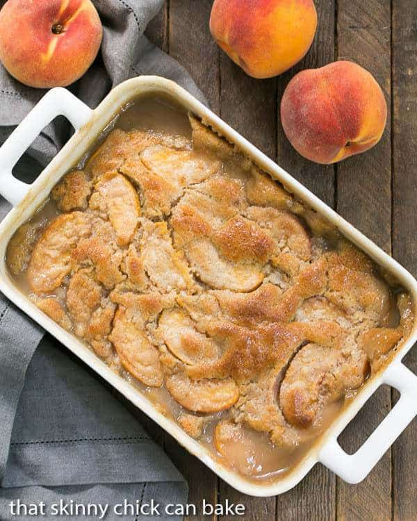 Fresh Peach Pudding