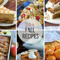20+ Best Fall Recipes | Blogger friends' favorite fall recipes!