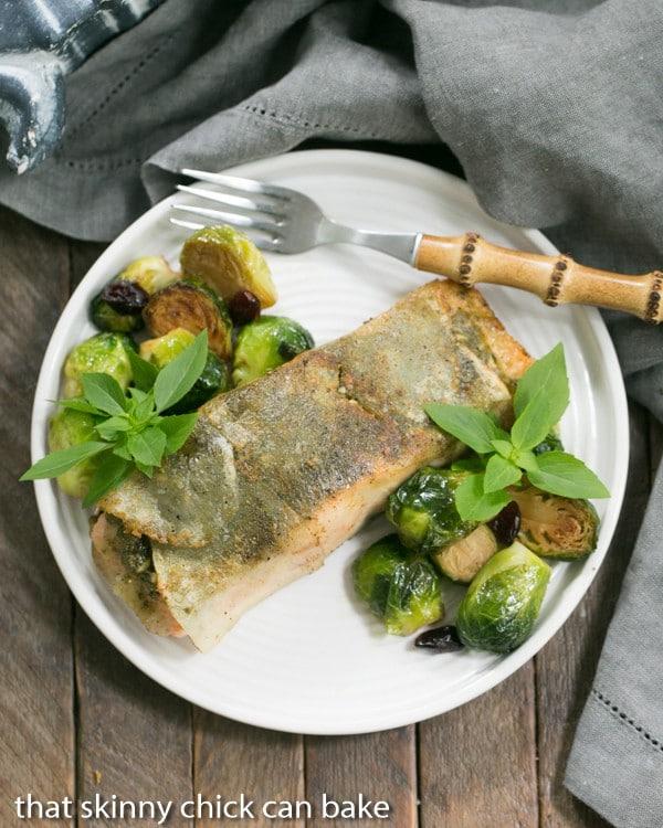 Potato Shingled Salmon | An elegant 4 ingredient recipe!