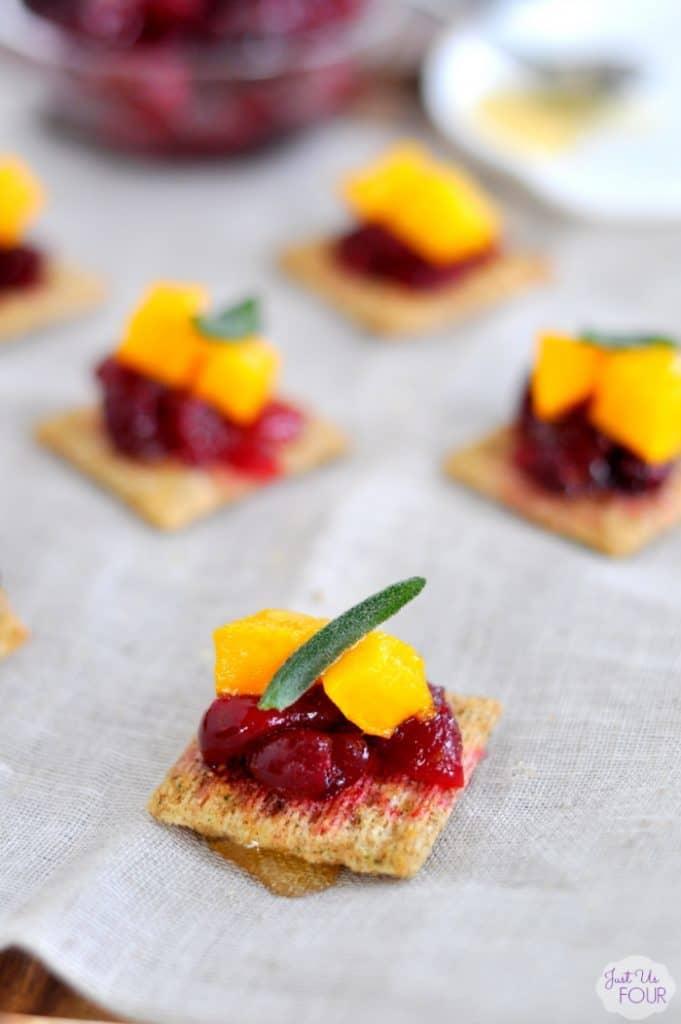 Pumpkin Cranberry Bites