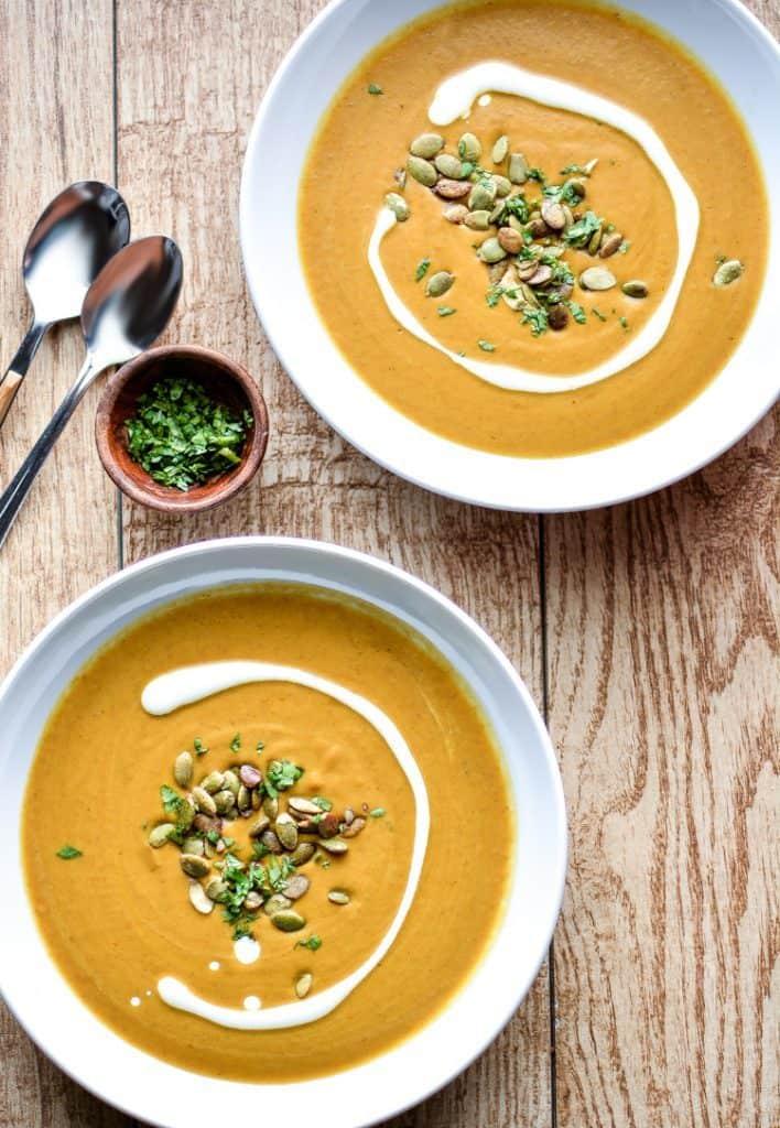 Slow Cooker Pumpkin Curry Soup