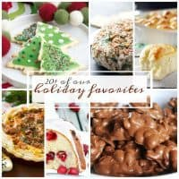 20+ Best Holiday Recipes | From desserts to rolls to potatoes, food bloggers shared their favorite holiday recipes