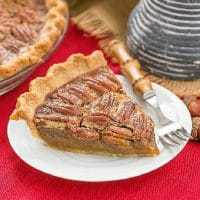 Boozy Pecan Pie featured image