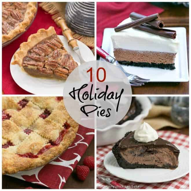 10 Holiday Pies collage