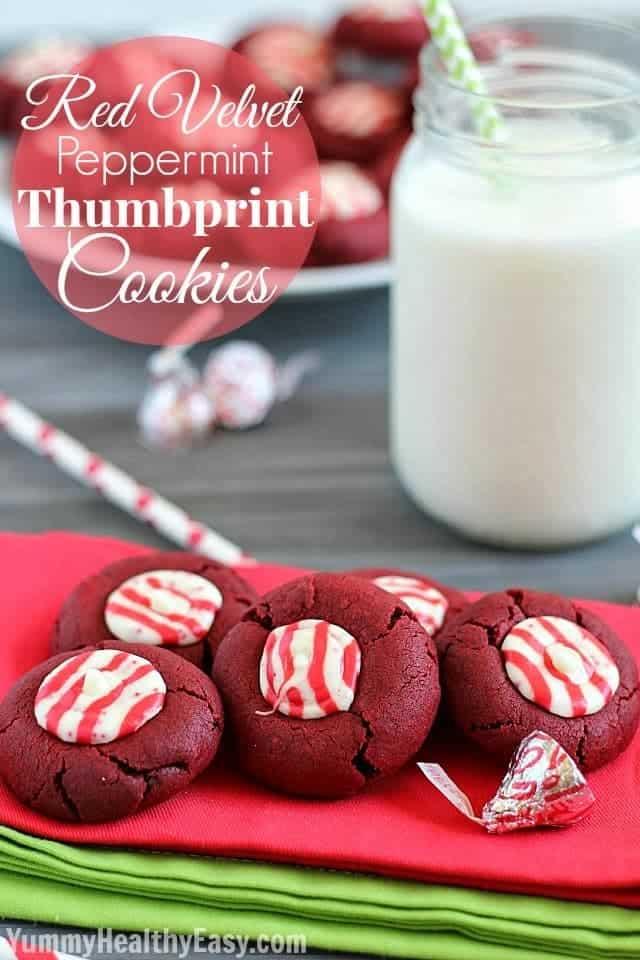 Red Velvet Thumbprints