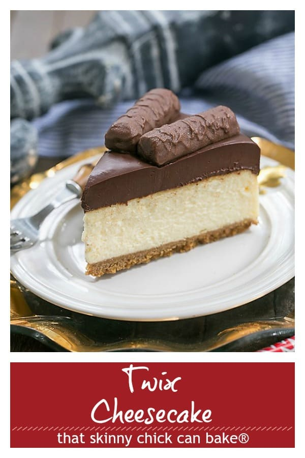 Twix Cheesecake Pinterest image
