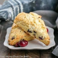 Cranberry Eggnog Scones featured image