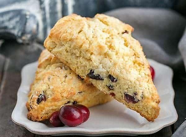 Cranberry Eggnog Scones featured image