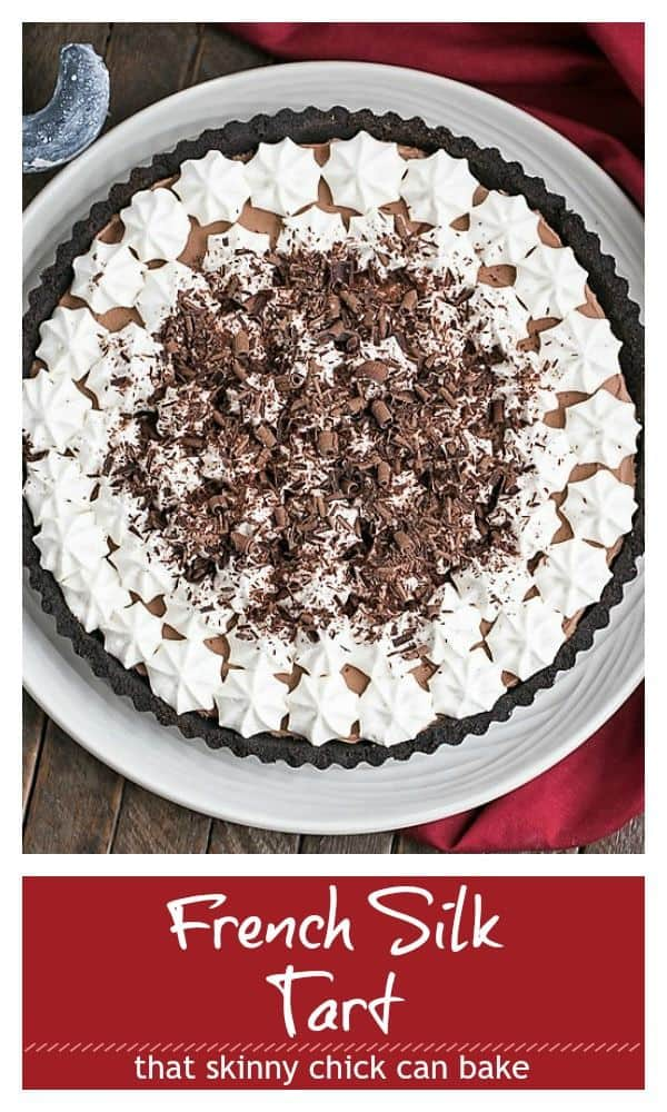 French Silk Tart Pinterest collage