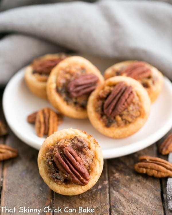 Pecan Tassies | Mini Pecan Pies in cream cheese pastry crusts